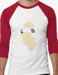 Growlithe Men's Baseball ¾ T-Shirt