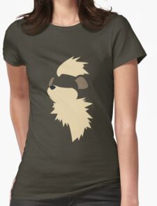 Growlithe Womens Fitted T-Shirt