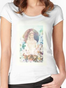 Reign- Mary Women's Fitted Scoop T-Shirt