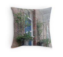 Windsor Terrace Detail # 1 Throw Pillow