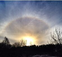 Ice Halo by ArtWeaver