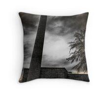Smokestack - Waxhaw, NC Throw Pillow