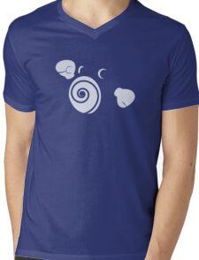 Poliwhirl Mens V-Neck T-Shirt