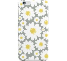 White Daisies Pattern iPhone Case/Skin