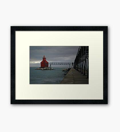 Sturgeon Bay Coast Guard Station Framed Print