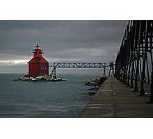 Sturgeon Bay Coast Guard Station Photographic Print