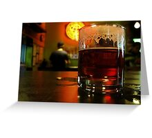 Hey, Bartender... Greeting Card