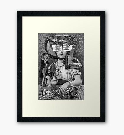 E Book Reader 4. Framed Print
