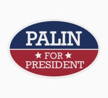 Palin for President Kids Tee