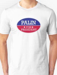 Palin for President Unisex T-Shirt