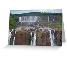 Iguassu Falls Greeting Card