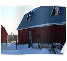 Two barns in one Poster