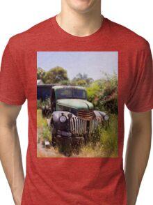 1946 Chevy - Abandoned Tri-blend T-Shirt
