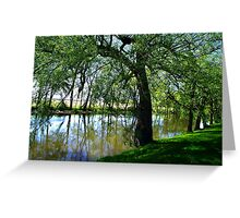 """""""The Willow"""" Greeting Card"""