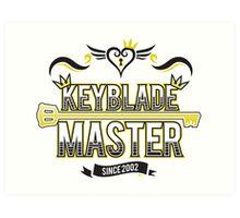 Keyblade Master 2.0 Art Print