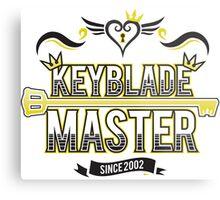 Keyblade Master 2.0 Metal Print