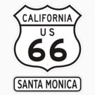 Historic Route 66 - The Mother Road - Santa Monica by IntWanderer
