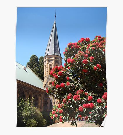 God's glorious flora (Uniting Church, Bacchus Marsh) Poster
