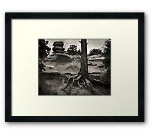 The Garden of the Gods, Colorado, 1979 Framed Print