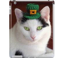 Cool Irish Cat iPad Case/Skin