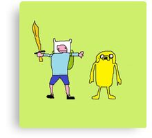 Adventure Time Fine Art Canvas Print