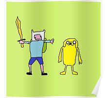 Adventure Time Fine Art Poster