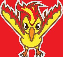 Moltres by Eat Sleep Poke Repeat