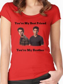 Teen Wolf Sciles Women's Fitted Scoop T-Shirt