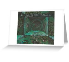 Klaus Schulze - Kontinuum Greeting Card