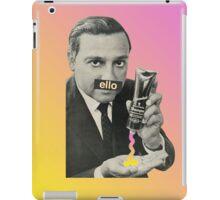 'Ello, Love. iPad Case/Skin