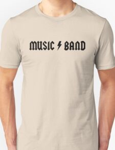 30 Rock - Music Band Unisex T-Shirt