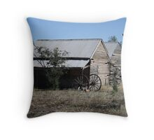 Run Down Throw Pillow
