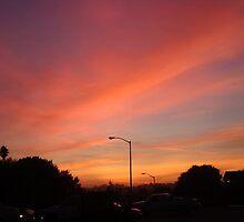 sunset on the eastside by kalijaybird