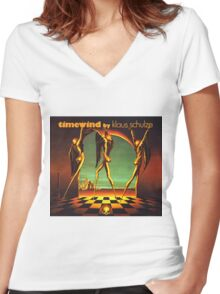 Klaus Schulze - Timewind Women's Fitted V-Neck T-Shirt