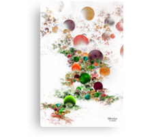 'Bubble Flow' Canvas Print