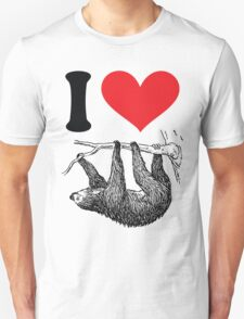 I HEART SLOTH T-Shirt