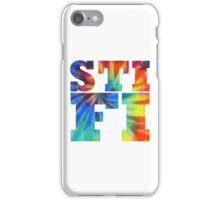STIFI Sticky Fingers Logo iPhone Case/Skin