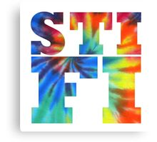 STIFI Sticky Fingers Logo Canvas Print