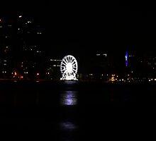 Perth at Night  by Sandra Chung