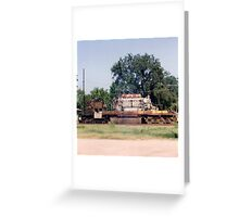 Union Pacific Engine Greeting Card