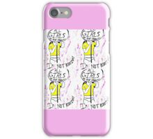 Girls to the Front! iPhone Case/Skin