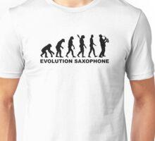 Evolution Saxophone Unisex T-Shirt