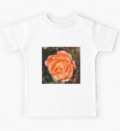 Orange Wildfire - Miniature Rose Kids Tee