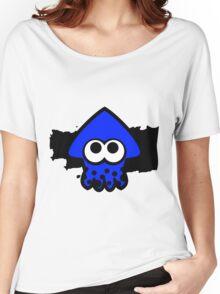 Splatoon Squid (Dark Blue) Women's Relaxed Fit T-Shirt