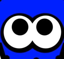 Splatoon Squid (Dark Blue) Sticker