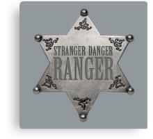 Kimmy Schmidt: the Stranger Danger Ranger Canvas Print