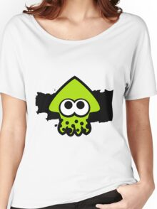 Splatoon Squid (Green) Women's Relaxed Fit T-Shirt