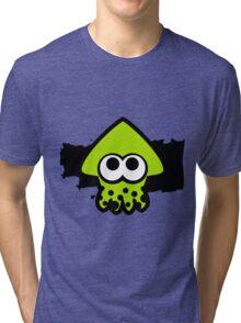 Splatoon Squid (Green) Tri-blend T-Shirt