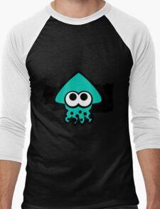 Splatoon Squid (Light Blue) Men's Baseball ¾ T-Shirt
