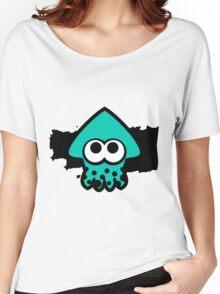 Splatoon Squid (Light Blue) Women's Relaxed Fit T-Shirt